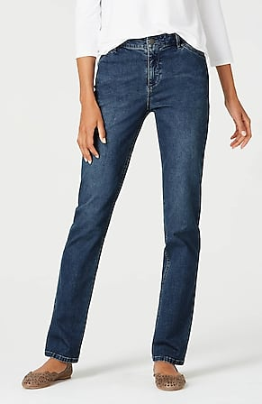 Image for Tried& True Straight-Leg Jeans