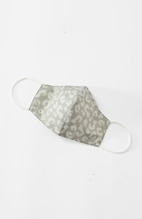 Image for Leopard-Print Reusable Face Mask