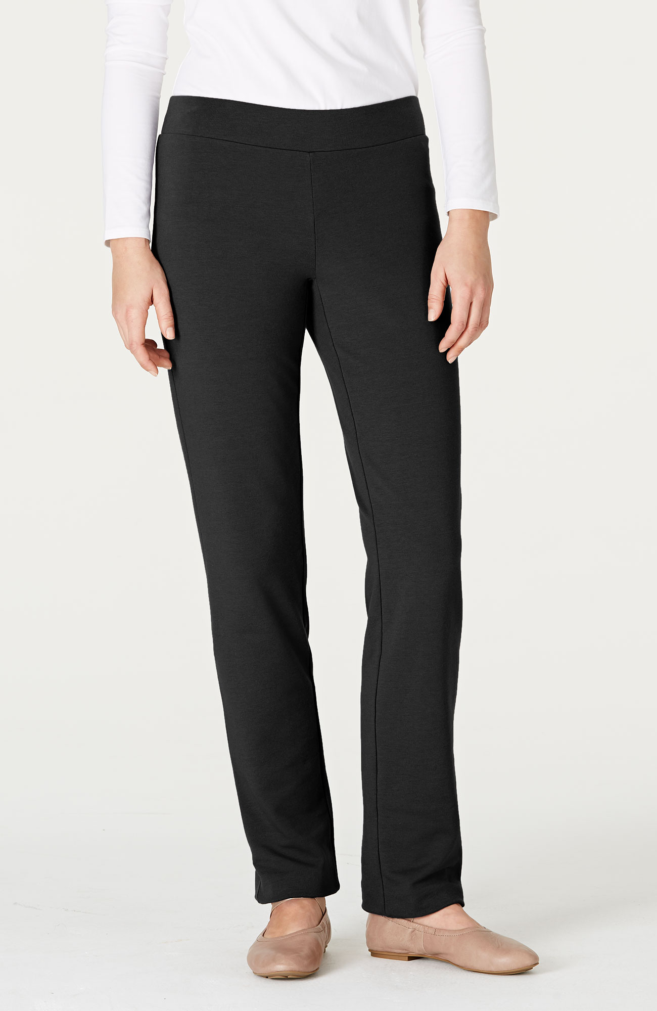 Pure Jill slim-leg pants