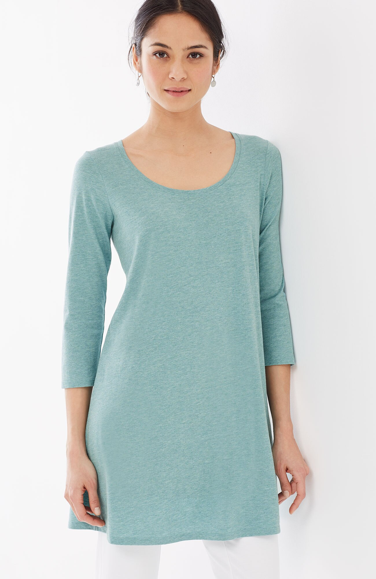 Pure Jill ballet-sleeve tunic